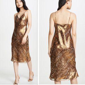 CAMI NYC The Raven Silk Slip Dress NWT $304